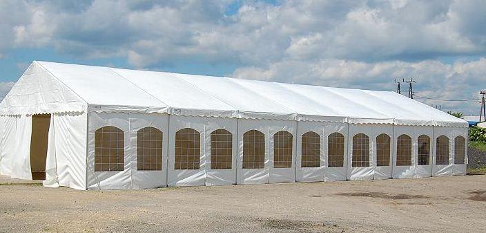 Kupić Hale namiotowe bankietowe w standardzie normalnym i podwyższonym na różnego rodzaju imprezy plenerowe, śluby, wesela.