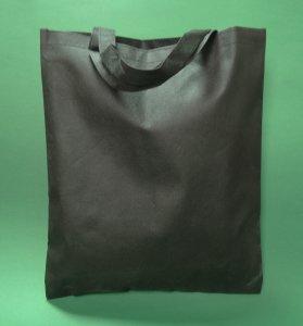 Tote černá 38x42 cm krátká rukojeť