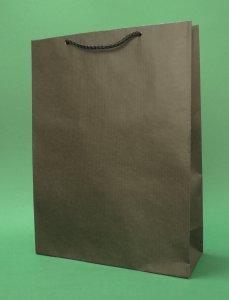 Kupić Torba papierowa eco prestige 24x9x32 cm czarna