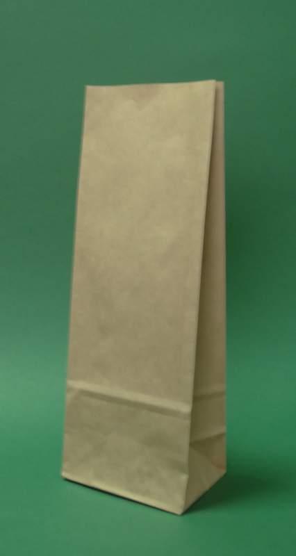 Kupić Torby papierowe bez uchwytu 10x7x26 cm biała - 1000 szt.