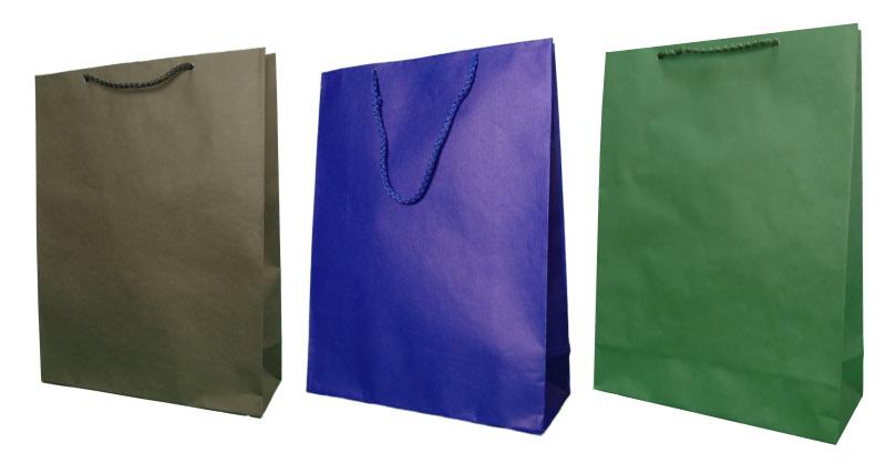 Kupić Torby papierowe eco prestige 24x9x32 cm - 5000 szt.