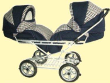 Kupić Wózek spacerowy dla bliźniąt