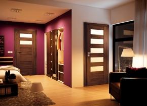 Kupić Drzwi wewnętrzne drewniane.