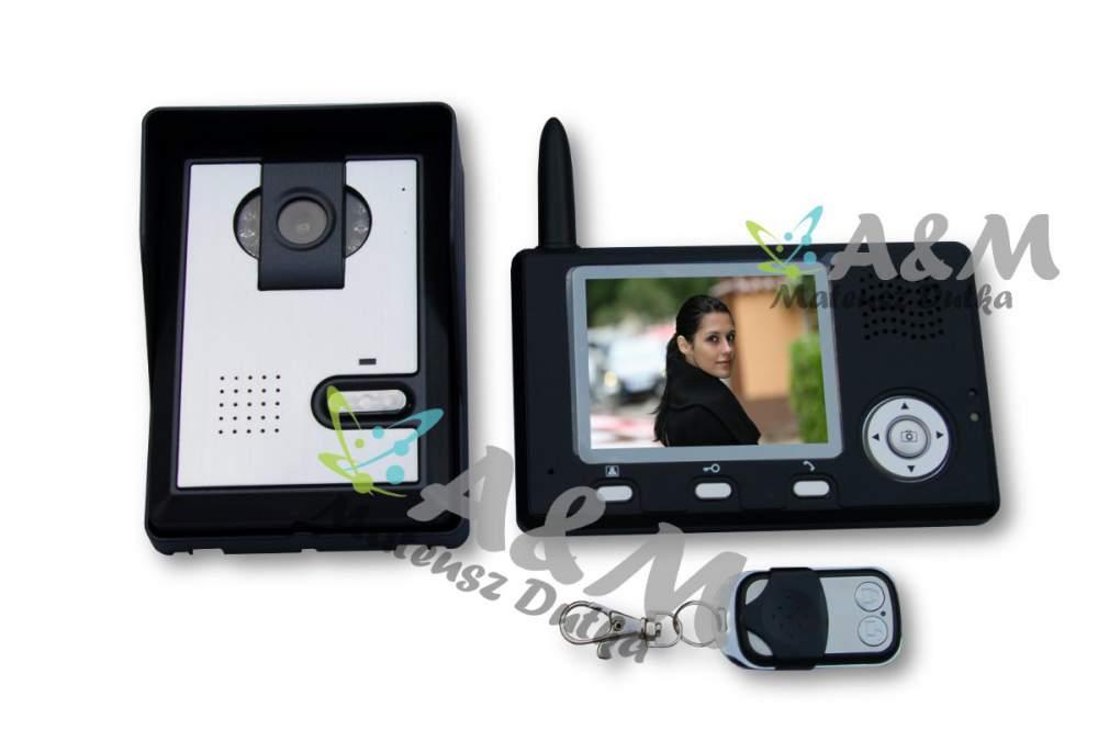 Kupić AM-352 - Wideodomofon bezprzewodowy 3,5 cali