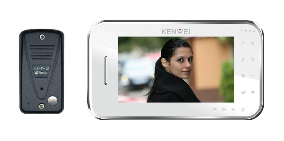 Kupić VK136MC/KW-702C - Zestaw wideodomofonowy Kenwei