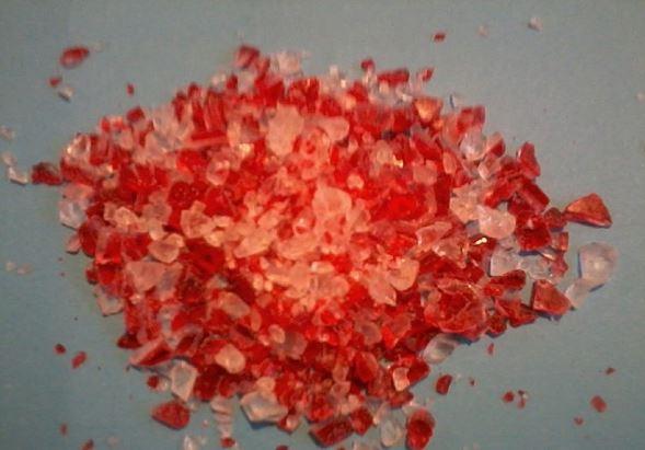 Kupić Przemiał poprodukcyjny PMMA czerwonego