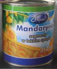 Kupić Mandarynki w puszce w lekkim syropie