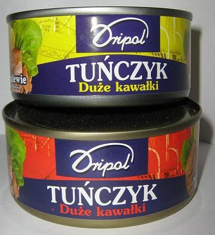 Kupić Tuńczyk kawałki w puszce w oleju.