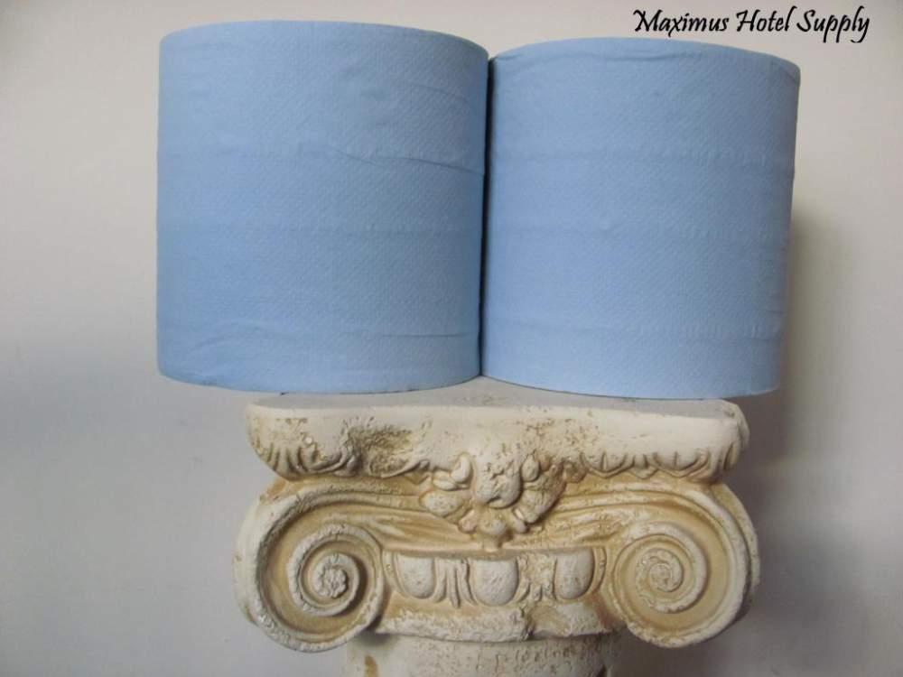 Kupić Czyściwo niebieskie makulatura 2 warstwowe 150m - 2 rolki