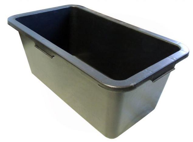 Kastry plastikowe prostokątne 45 l. 60 l. oraz 80 l.