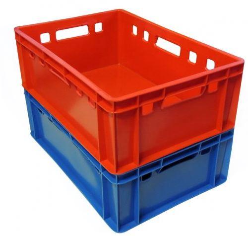 Pojemniki plastikowe uniwersalne 60x40x20cm o wadze: 2 kg, dostępne także w klasie I - wykonane z oryginalnych granulatów tworzyw przeznaczonych do kontaktu z żywnością (certyfikat)