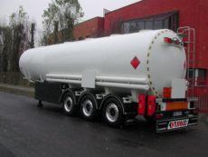 Kupić Naczepy paliwowe cylindryczne do przewozu klasy 3 wg ADR