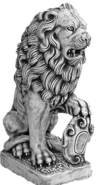 Kupić Wyroby dekoracyjne architektury ogrodowe zwierzęta lwy ozdoba posiadłości ogrodu tarasu i bram wjazdowych