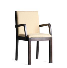 Kupić Meble z kolekcji modern krzesło z podłokietnikami i oparciem wygodne i eleganckie