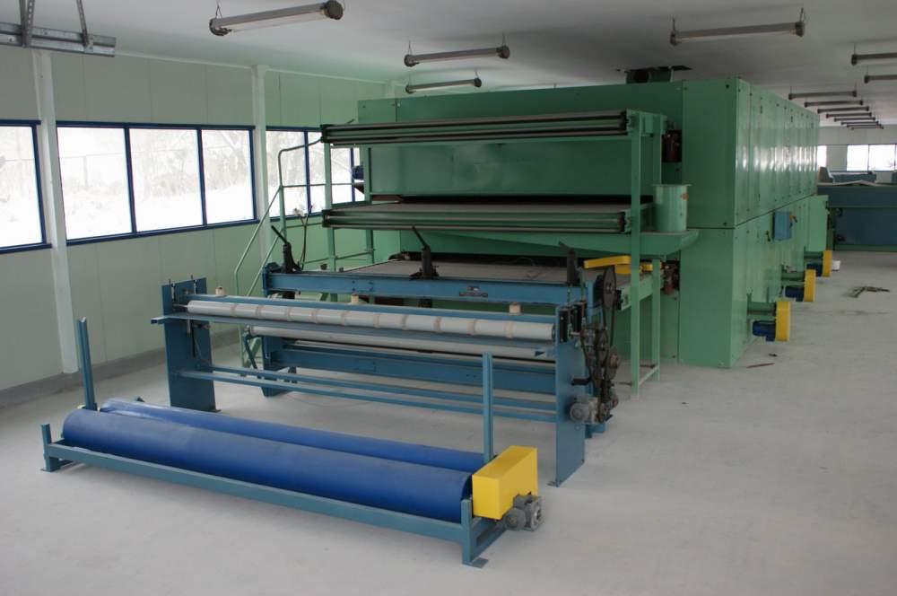 Kupić Nowa, kompletna linia do produkcji włoknin z włókien synteteycznych