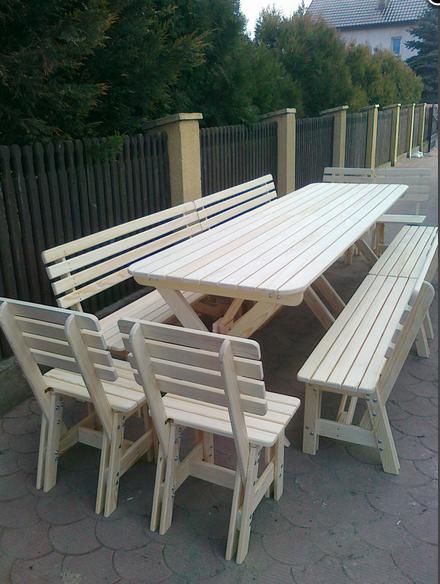 Kupić Meble drewniane ogrodowe