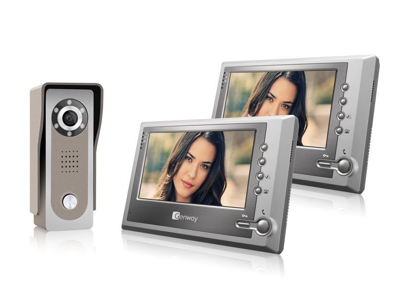 Kupić F-S7V11x2 - Zestaw wideodomofonowy Genway 2 monitory