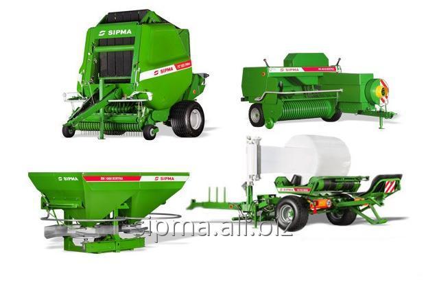 Maszyny rolnicze.