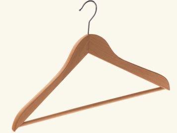 Kupić Wieszaki drewniane z możliwością naniesienia logo