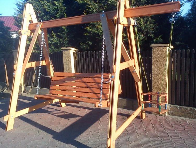 Hustawki Ogrodowe Drewniane Dla Dzieci Wymiary : Huśtawki drewniane ogrodowe — Kupić Huśtawki drewniane ogrodowe