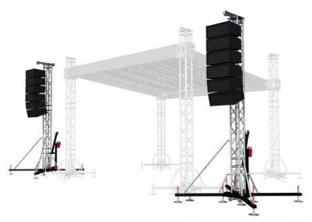 Kupić Systemy sceniczne - wieże nagłośnieniowe