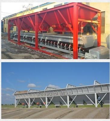 Kupić Węzeł betoniarski - Zbiorniki kruszyw