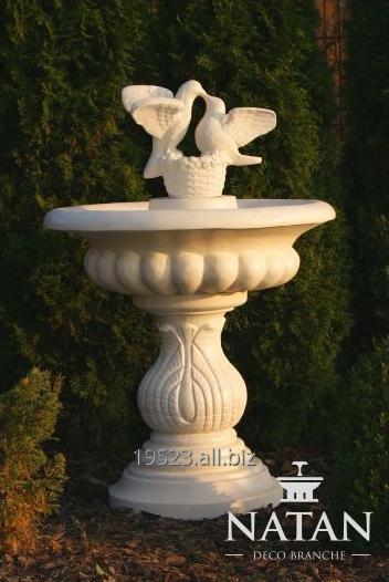 Kupić Małe fontanny ogrodowe TORINO Z GOŁĄBKAMI P004