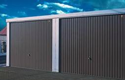 Kupić Garaże stalowe o ścianach z blachy trapezowej