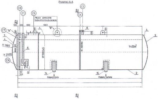 Kupić Zbiorniki naziemne dwupłaszczowe przeznaczone są do magazynowania materiałów ciekłych, zapalnych (benzyny, oleje).