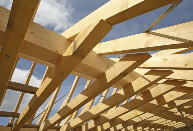 Kupić Więźba dachowa drewniana