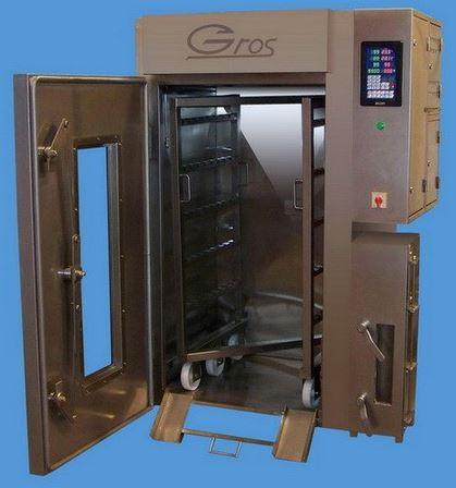 Kupić Komory wędzarniczo-parzelnicze z funkcją pieczenia(pasztetów i mięsa) w temperaturach do 180 ºC