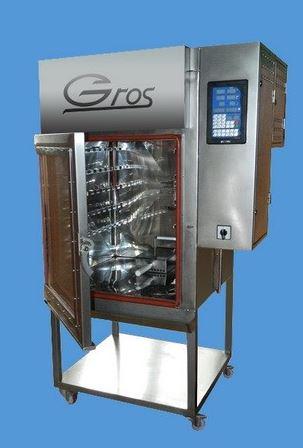Kupić Komory wędzarniczo-parzelnicze z funkcją pieczenia (pasztetów i mięsa) w temperaturach do 220 ºC