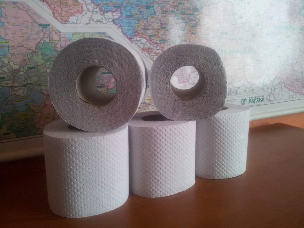 Kupić Papier toaletowy małe rolki bielony