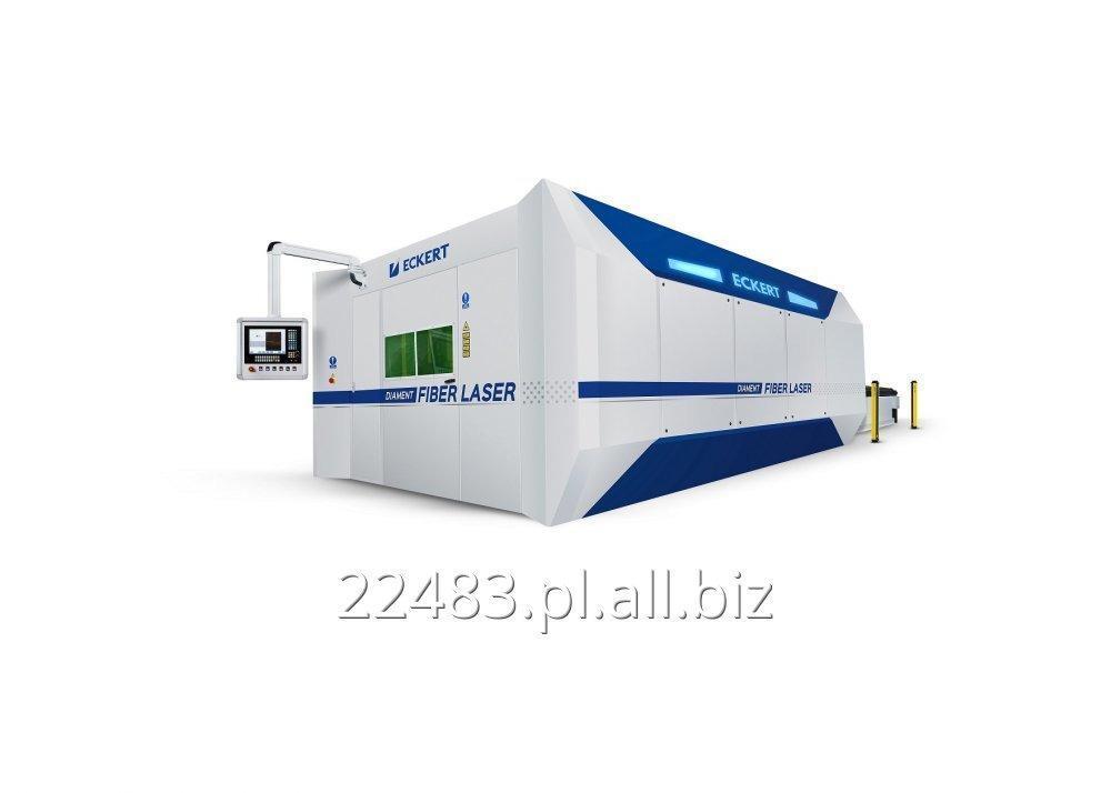 Kupić Przecinarka laserowa DIAMENT FIBERT LASER LINEAR w zaawansowanej technologii światłowodowej i dynamicznym i szybkim magnetycznym napędem liniowym.