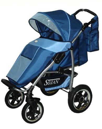 Kupić S-Lander, lekki i komfortowy wózek spacerowy z regulowaną rączką
