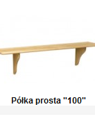 """Kupić Półka drewniana Prosta """"100"""""""