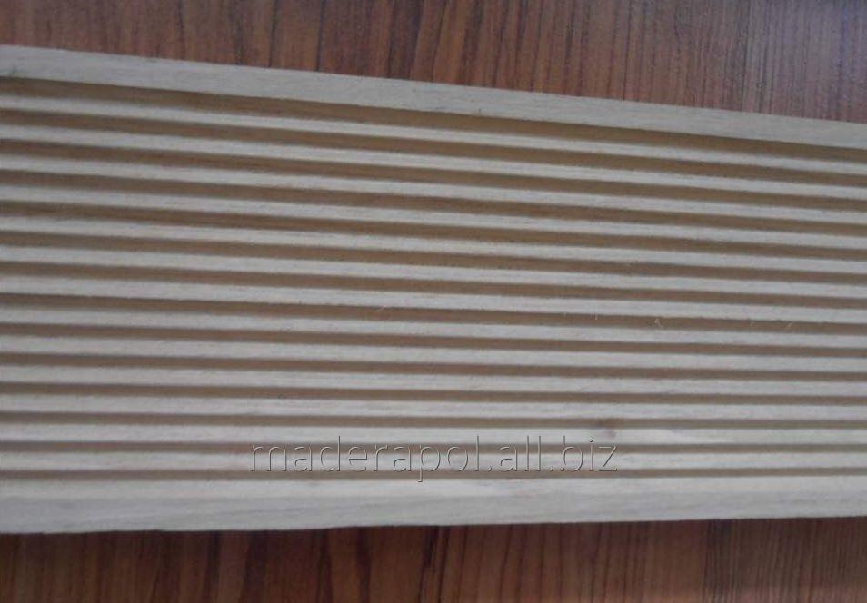 Kupić Deski akacjowe tarasowe ryflowane 3,2 cm x 12 cm x 150 cm/180 cm