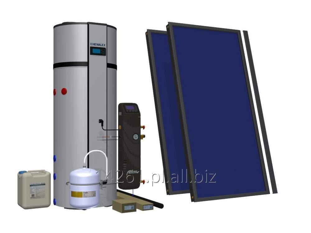 Kupić Zestaw solarny HEWALEX 2 TLPAC-PCWU300SK (KS2100)
