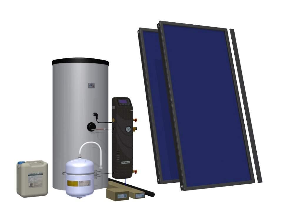 Kupić Zestaw solarny HEWALEX 2 TLPAm-200