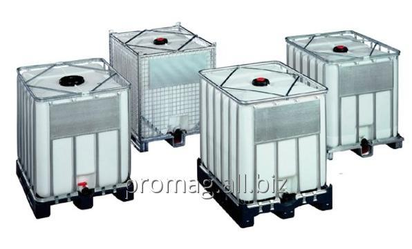 Paletokontenery do  bezpiecznego składowania i transportu cieczy
