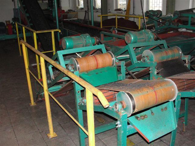 Kupić Niewiele używana linia do recyklingu opon