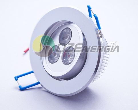 Kupić Oprawa sufitowa aluminium 3x1W Power LED 230V z zasilaczem Greenie