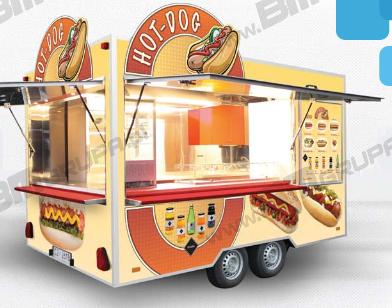 Kupić Przyczepa do sprzedaży hot - dogów