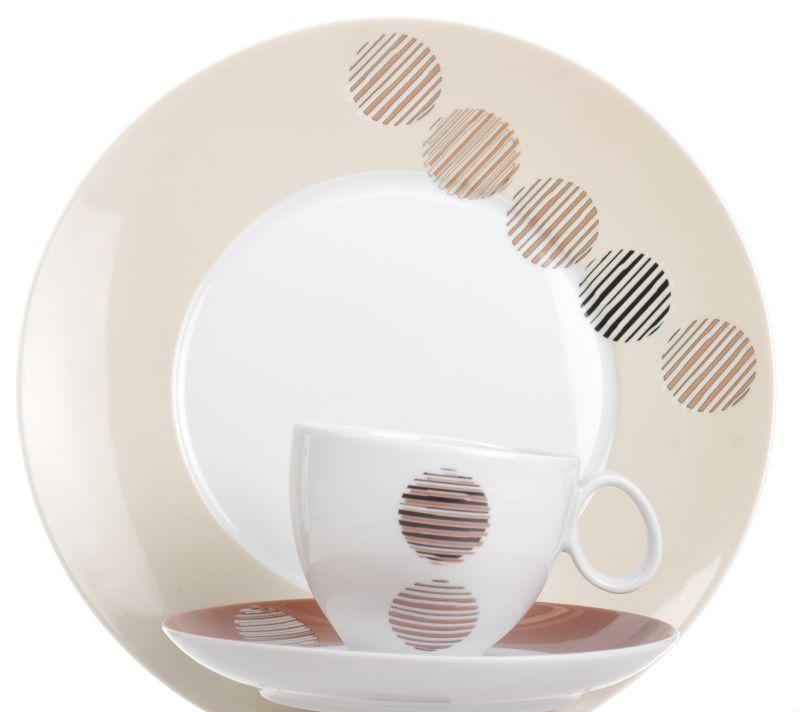 Kupić Zestaw obiadowo-kawowy na 6 osób - Quebec dek.E699 Mio.