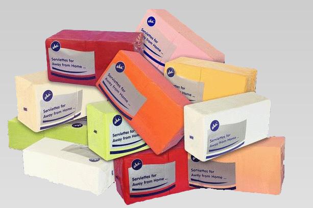 Kupić Serwetki papierowe kolorowe używane w barach gastronomicznych