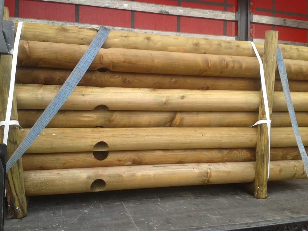 Kupić Palik paliki słupy palisada palisady pale bale toczone