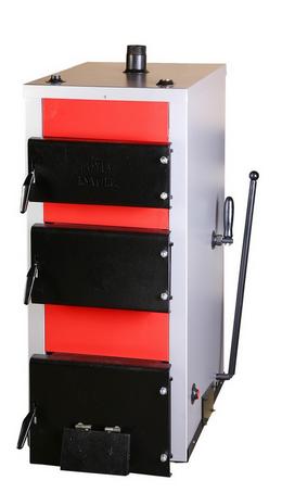 Kupić Uniwersalny kocioł zasypowy z przesłoną pozwalającą na zmianę górnego spalania na dolne