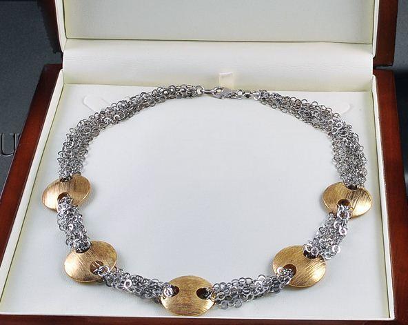 Kupić Ręcznie wykonany naszyjnik ze srebra.
