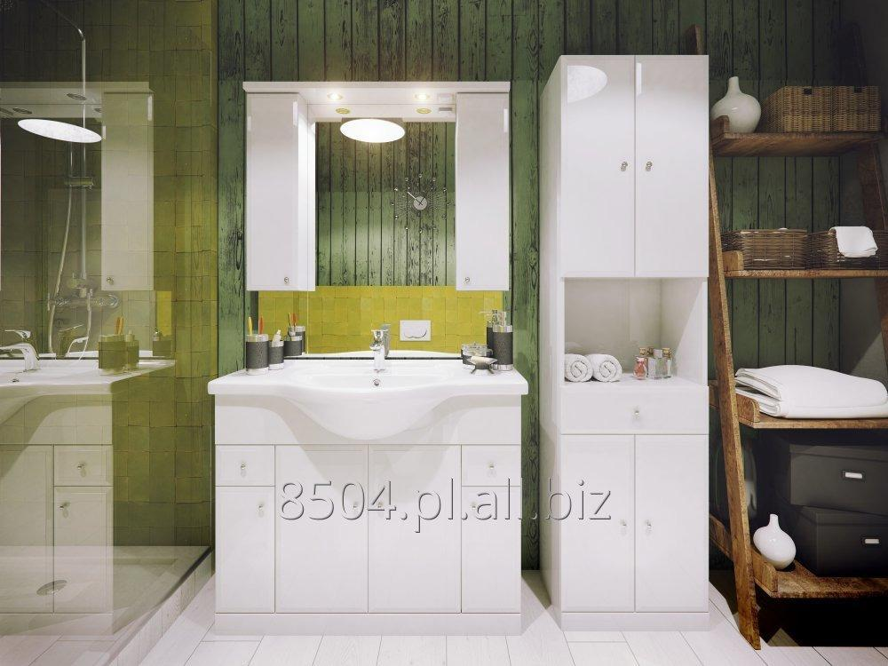 Kupić DEFRA Meble łazienkowe ARMANDO - klasyczna biel