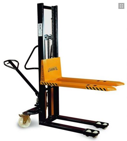 Kupić Wózki do palet masztowe z ręczna pompą hydrauliczną